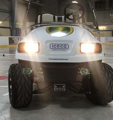 Iceco ice maintenance vehicule