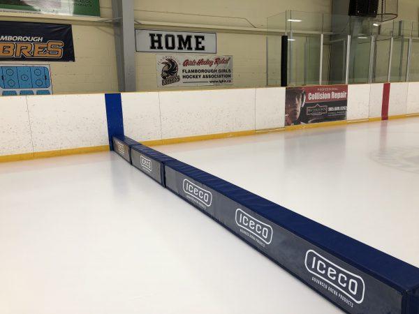 Cross Ice Rink Divider