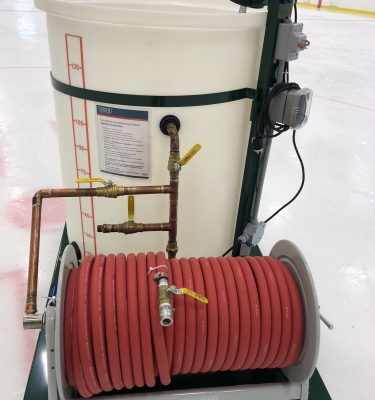 Electric Cart Mount for ice maintenance