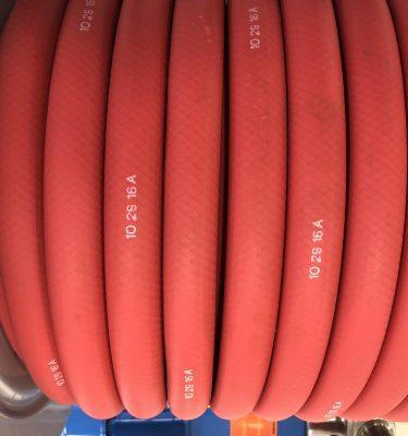 Red Rubber Hose for ice maintenance