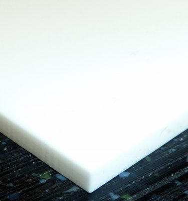 White Plastic for arena boards
